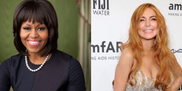 Common Thread: What Michelle Obama And Lindsay Lohan Have In Common This
