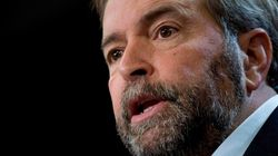 Mulcair Takes A Page Out Of Harper's