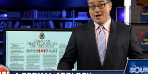 Ezra Levant Roma Comments: Kory Teneycke, Sun News VP, Takes Heat On CBC Over 'Jew vs. The