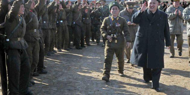 ---EDITORS NOTE--- RESTRICTED TO EDITORIAL USE - MANDATORY CREDIT 'AFP PHOTO / KCNA VIA KNS' - NO MARKETING...