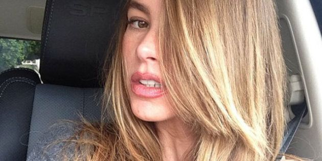 Sofia Vergara's Hair Is Blond: 'Modern Family' Actress Adds Highlights To Brunette Hair