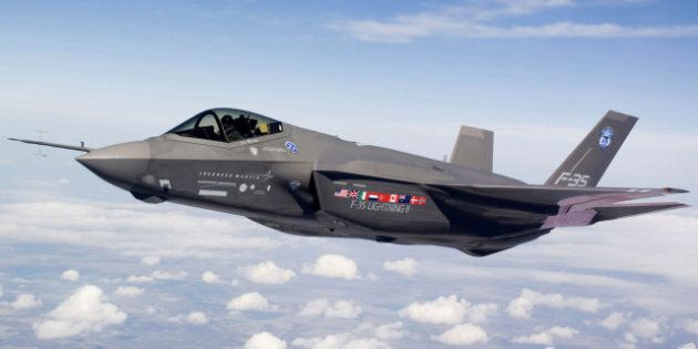 Pentagon Grounds F-35s Due To Crack In Turbine