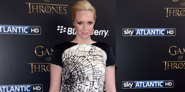 LONDON, UNITED KINGDOM - MARCH 26: Gwendoline Christie attends the season launch of 'Game of Thrones'...