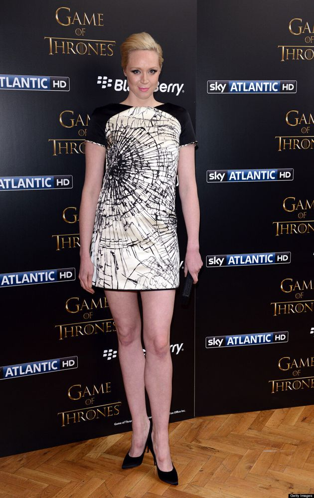 'Game Of Thrones' Star Gwendoline Christie Barely Recognizable At Premiere