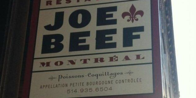Joe Beef Takes Quebec Language Watchdog Woes Public Following Pasta