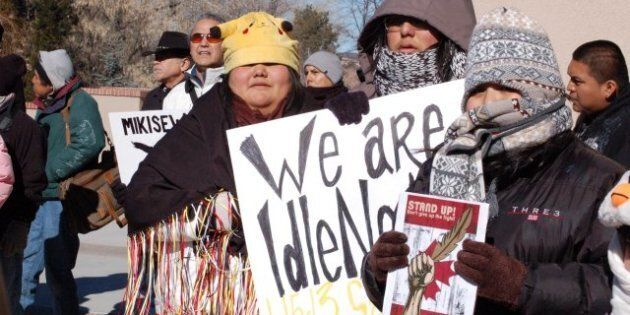 Idle No More Stages Day Of