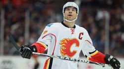 Iginla Off The Flames