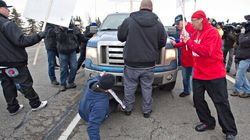 WATCH: Idle No More Protesters Face