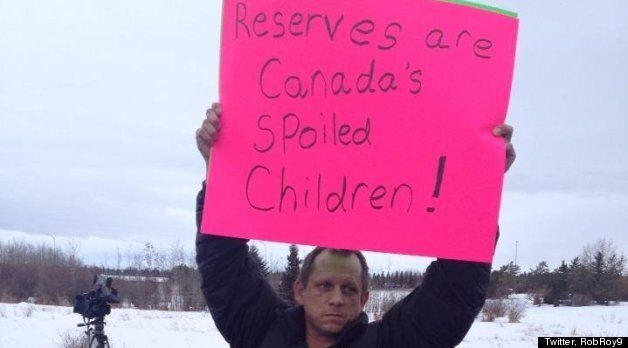 Idle No More: QEII Highway, Highway 55 and St. Albert Protests In Alberta (PHOTOS,