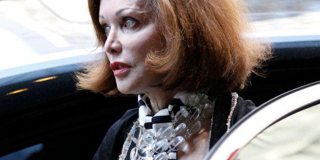 CHICAGO - JULY 23: Barbara Amiel Black arrives for her husband Conrad Black's bond hearing at federal...