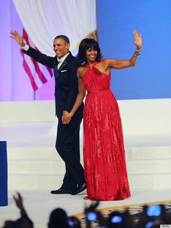 Michelle Obama's Red Jason Wu Inauguration Ball Gown Headed To The Smithsonian