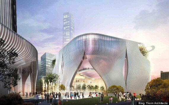 Hong Kong Chinese Opera Centre To Be Designed By Bing