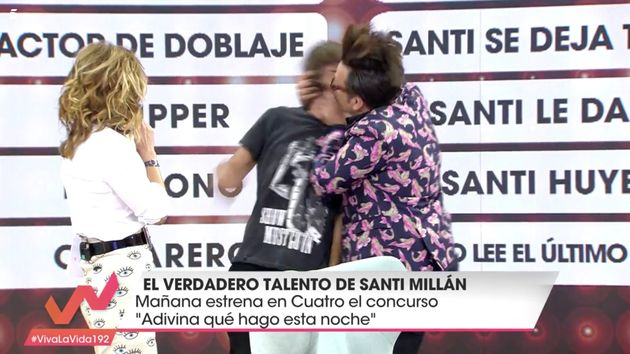 La dedicatoria de Torito a Santiago Abascal (Vox) en 'Viva la