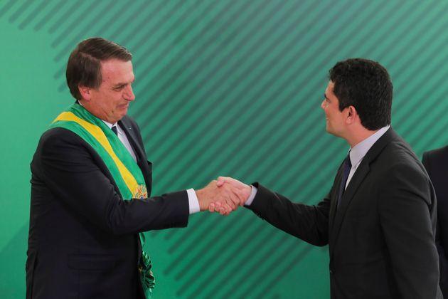 Jair Bolsonaro tem compromisso em indicar Sérgio Moro ao