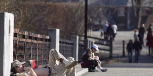 Early Spring For Canada As Temperatures Soar Way Above
