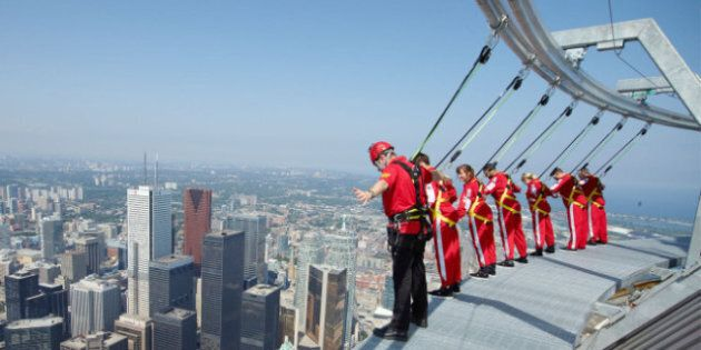 EdgeWalk: Toronto CN Tower Attraction Sets Guinness World