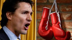 Trudeau Could Lose Luscious Locks In Boxing Side