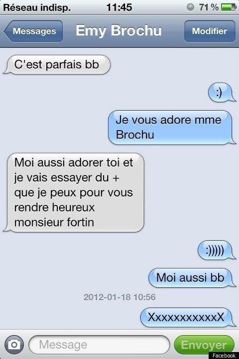 Emy Brochu Texting Death: Mathieu Fortin Releases Last Chat With Girlfriend, Sent While She Was