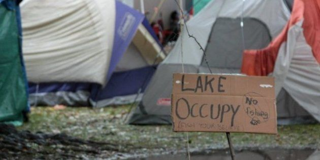 Occupy Toronto Splinter Group Sets Up Camp At Queen's Park