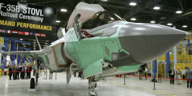 Lockheed Martin, Maker Of F-35 Stealth Fighter, Interested In Building Canadian Search