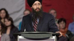 Singh Urges Supporters To Make Mulcair Their Second