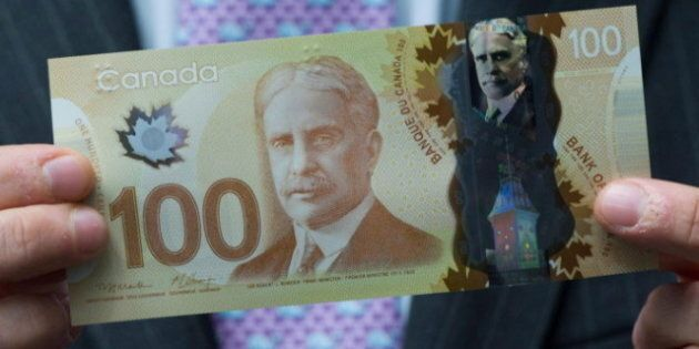 New Canadian $100 Bill Rolls Out, Ushering In Age Of Plastic