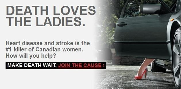 Do Edgy Heart and Stroke Foundation Ads Go Too
