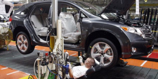 Canada's Manufacturing Sales Up In September, But Half Of Industries Stagnating: