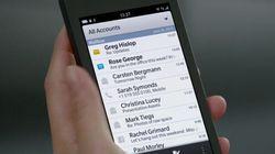 The BlackBerry 10 Prototype Has