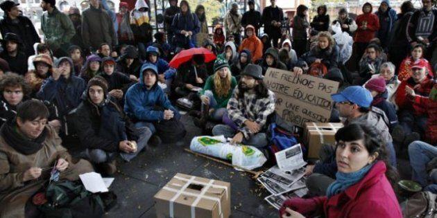 City Officials Intervene At Occupy