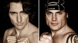 PHOTOS: Trudeau Goes Topless, Shows Off Abs In Boxing