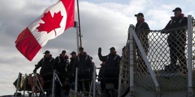 Operation Active Endeavour: HMCS Charlottetown Departs For Mediterranean Counter-Terrorism