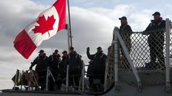 Canadian Navy Embarks On Counter-Terrorism