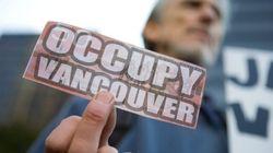 Occupy Protesters Greet Harper In