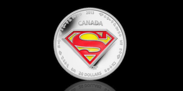 Royal Canadian Mint's Superman Coins Celebrate Comic Hero's 75th