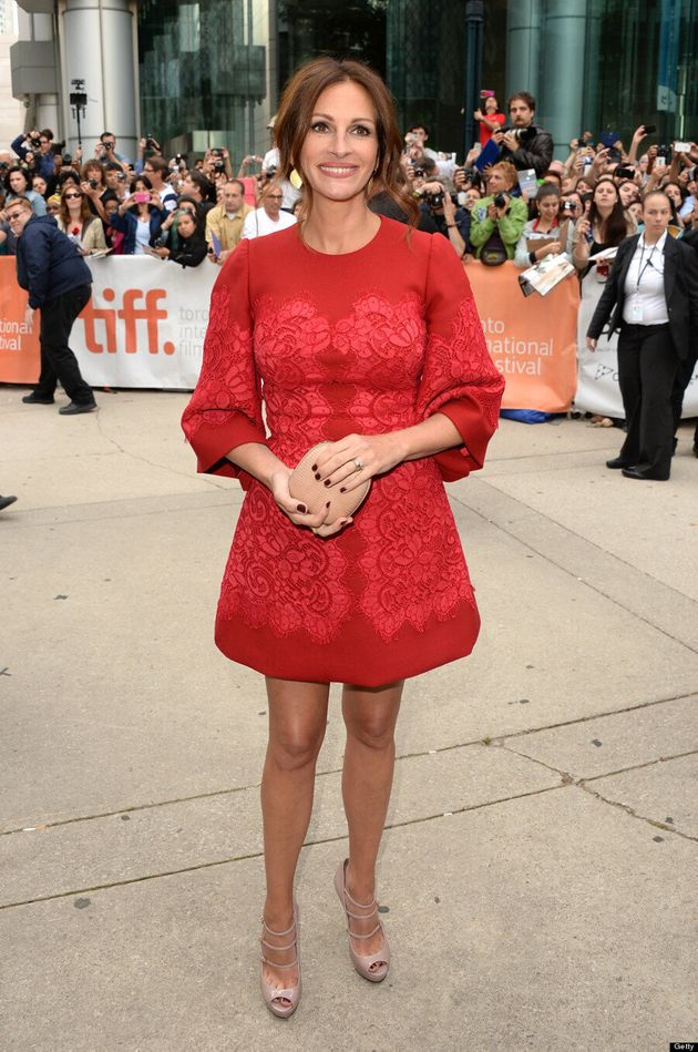 Julia Roberts TIFF 2013: America's Sweetheart Walks Red Carpet Without Meryl Streep