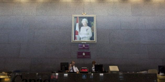 Stephen Harper's Office Wants Their Portrait Of The Queen Back From John Baird's