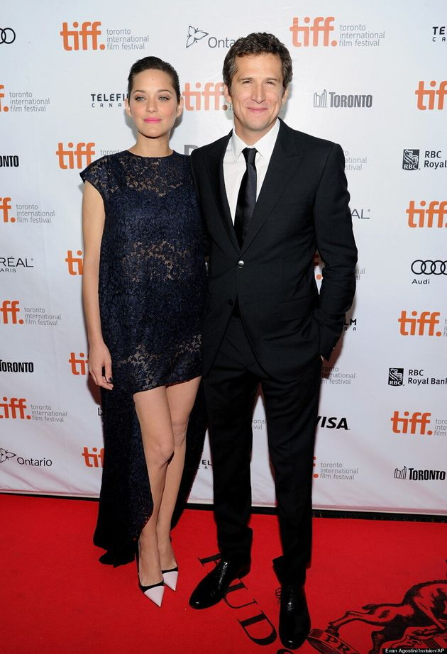 Marion Cotillard TIFF 2013: 'Inception' Star Walks Red Carpet With Guillaume Canet
