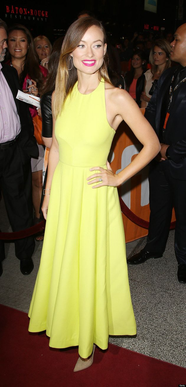 Olivia Wilde TIFF 2013: 'Tron: Legacy' Star Brightens Up Red Carpet