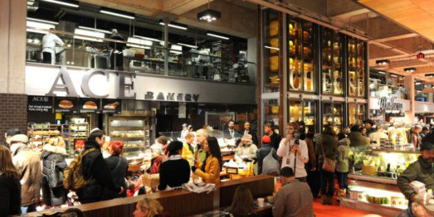 Loblaws At Maple Leaf Gardens Opens To