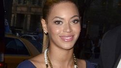 Beyonce Shows Off Toned Body In Slinky Dress