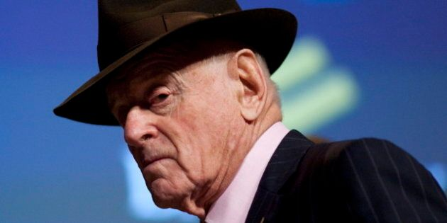 Occupy Toronto: Barrick Gold Chief Peter Munk Says He'd Love To Defend Record To Occupy