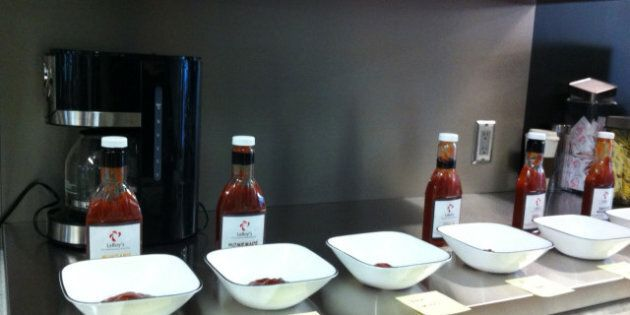 LeRoy's Flavored Ketchup: Test