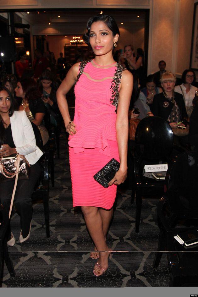 Freida Pinto TIFF 2013: 'Slumdog Millionaire' Star Supports Bollywood Cinema On Red Carpet