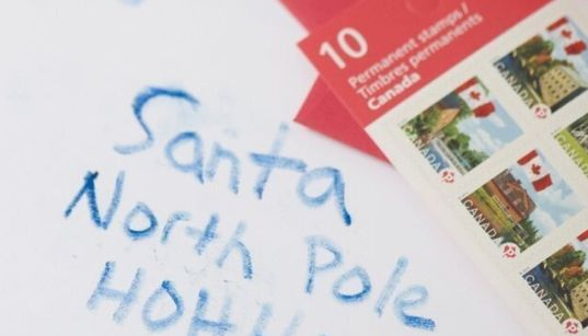 Santa Expecting 20 Millionth Letter Through Canada