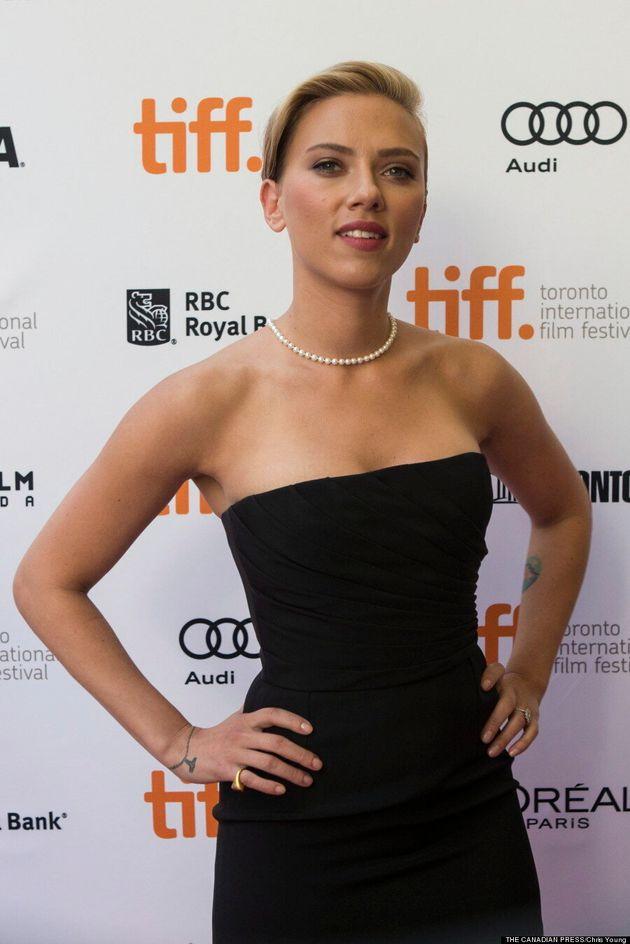 Scarlett Johansson TIFF 2013: 'Don Jon' Star Flaunts Major Curves On Red Carpet