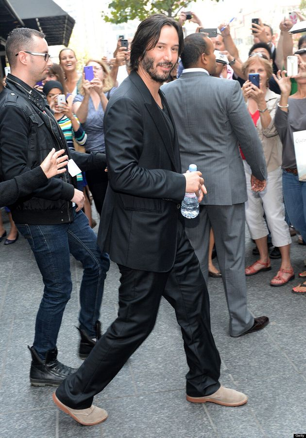 Keanu Reeves TIFF 2013: 'The Matrix' Star Cleans Up Nice On The Red Carpet