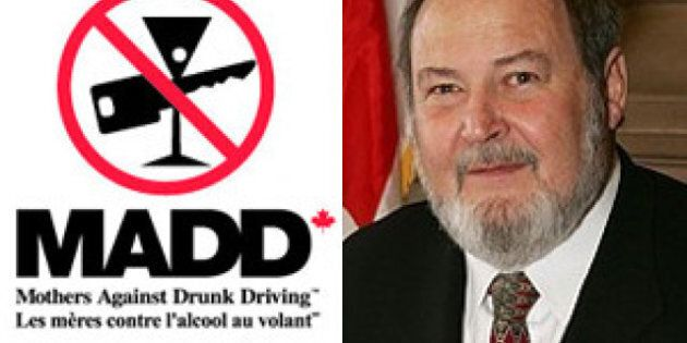 Peter Goldring: MP Who Refused Breathalyzer Railed Against MADD Proposal For More Roadside