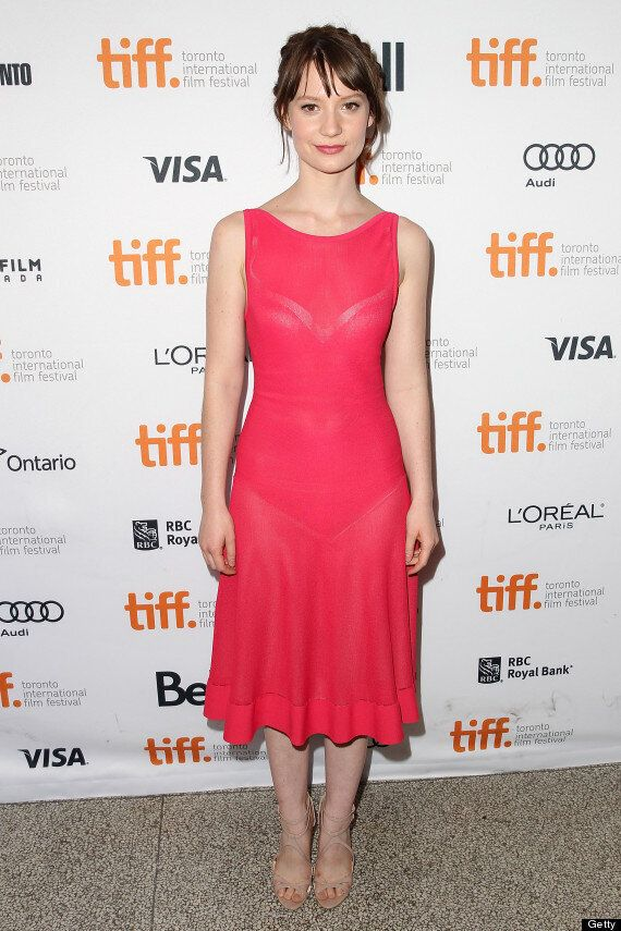 Mia Wasikowska TIFF 2013 Dress Is Revealing And Confusing