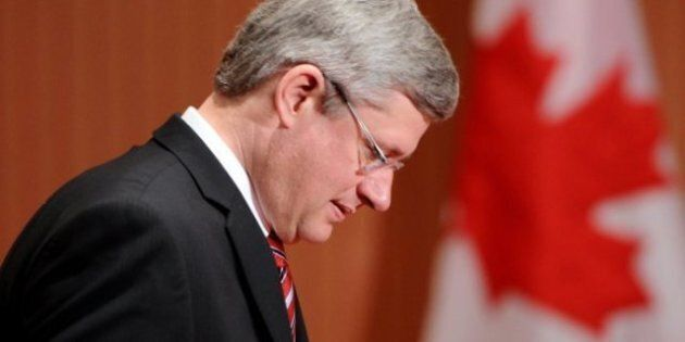 Harper Spin Put Under Third-Party